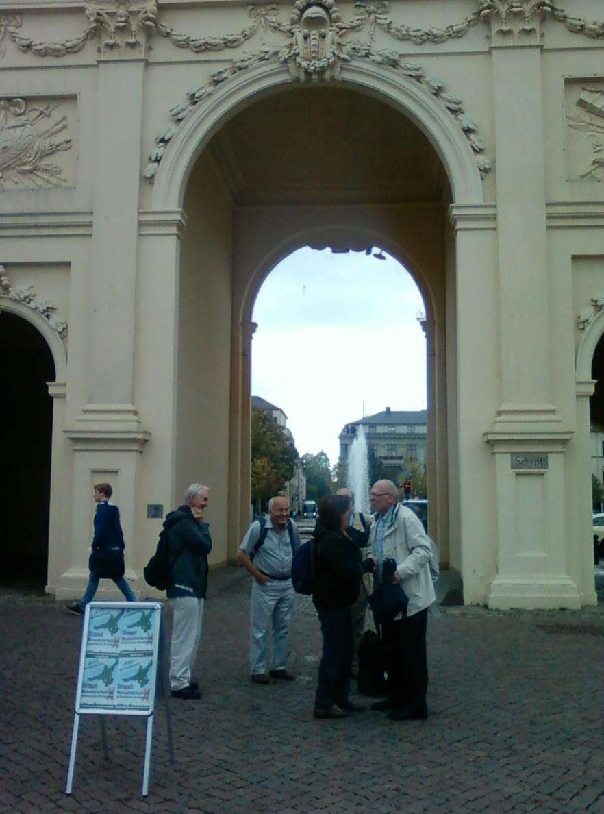 Avan la Brandenburger Tor en Potsdam